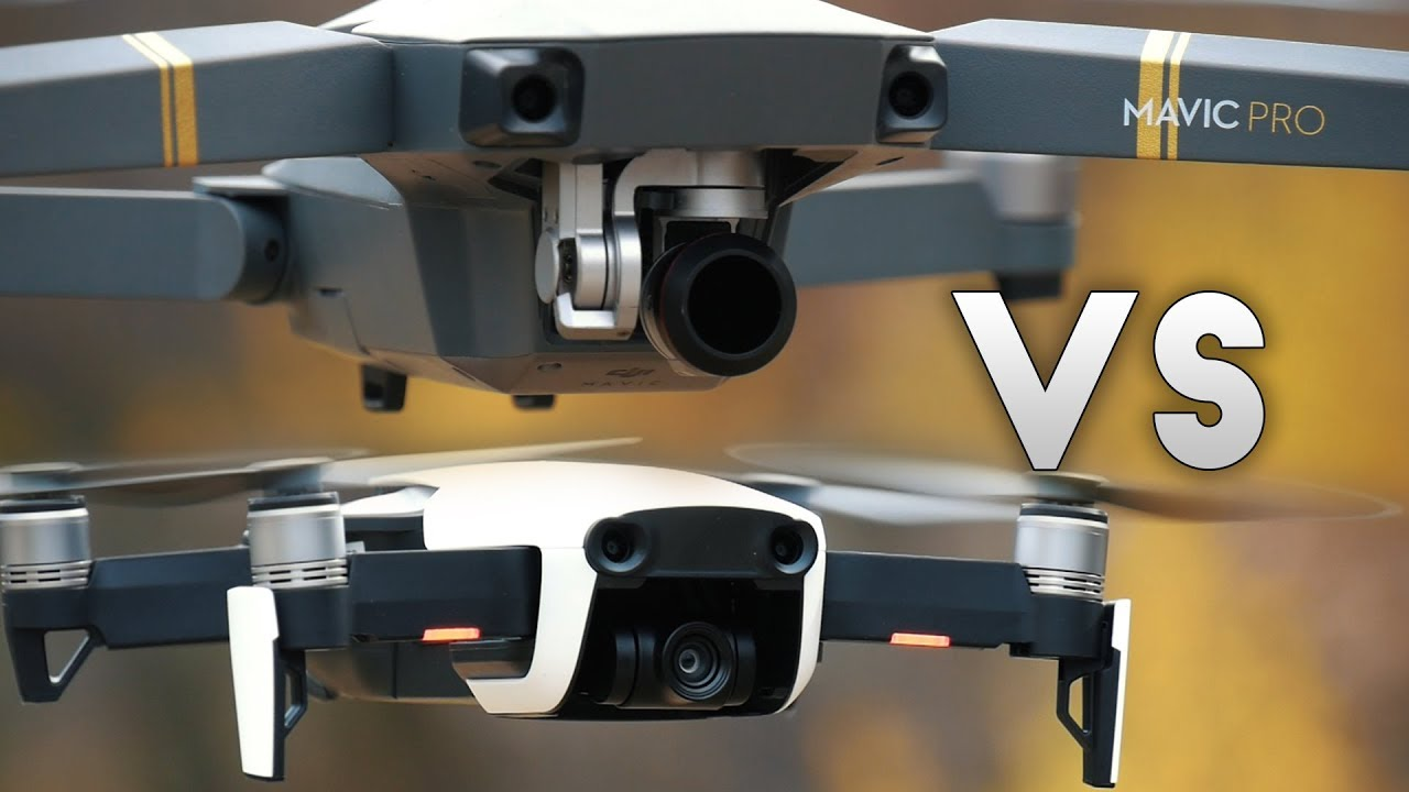 Choisir le Mavic Air ou Mavic Pro ? 🤔