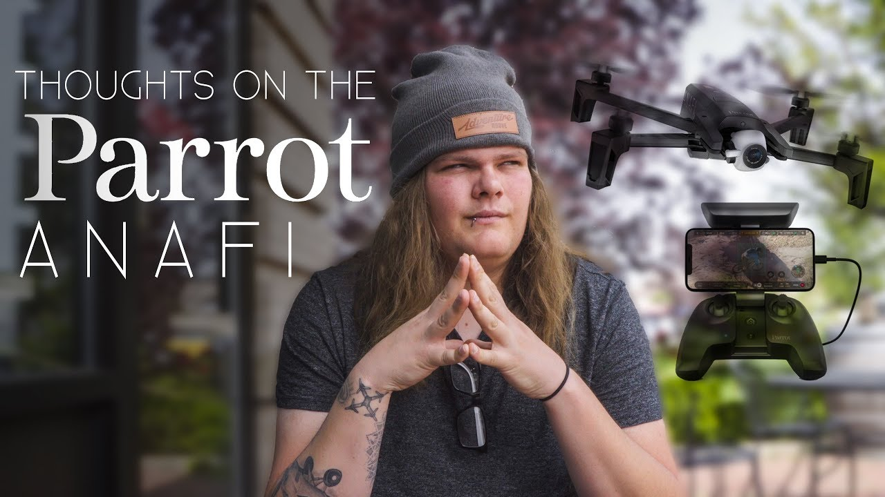 Parrot ANAFI: Thoughts From A Former Drone Product Manager