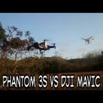 DJI Phantom 3s VS DJI Mavic Air - INDONESIA
