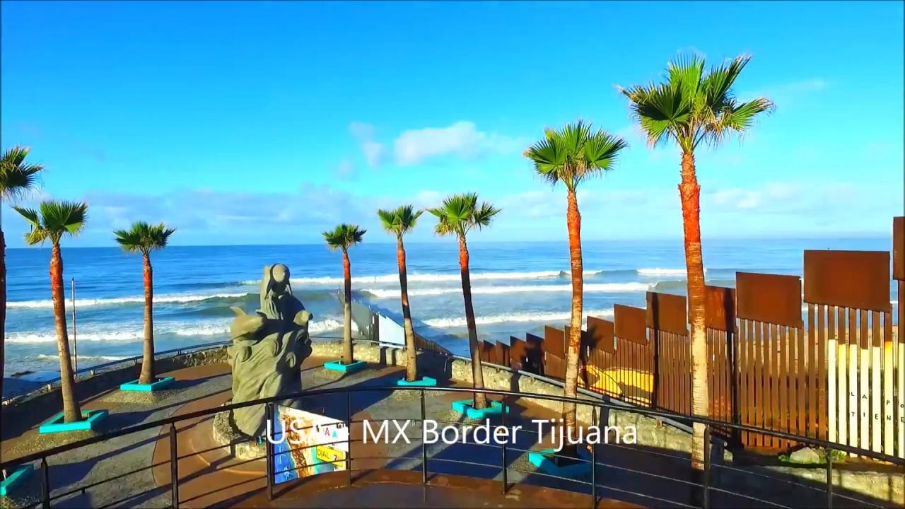 USA -  Mexico Border Wall Drone Video  (San Diego - Tijuana) Please subscribe 10K