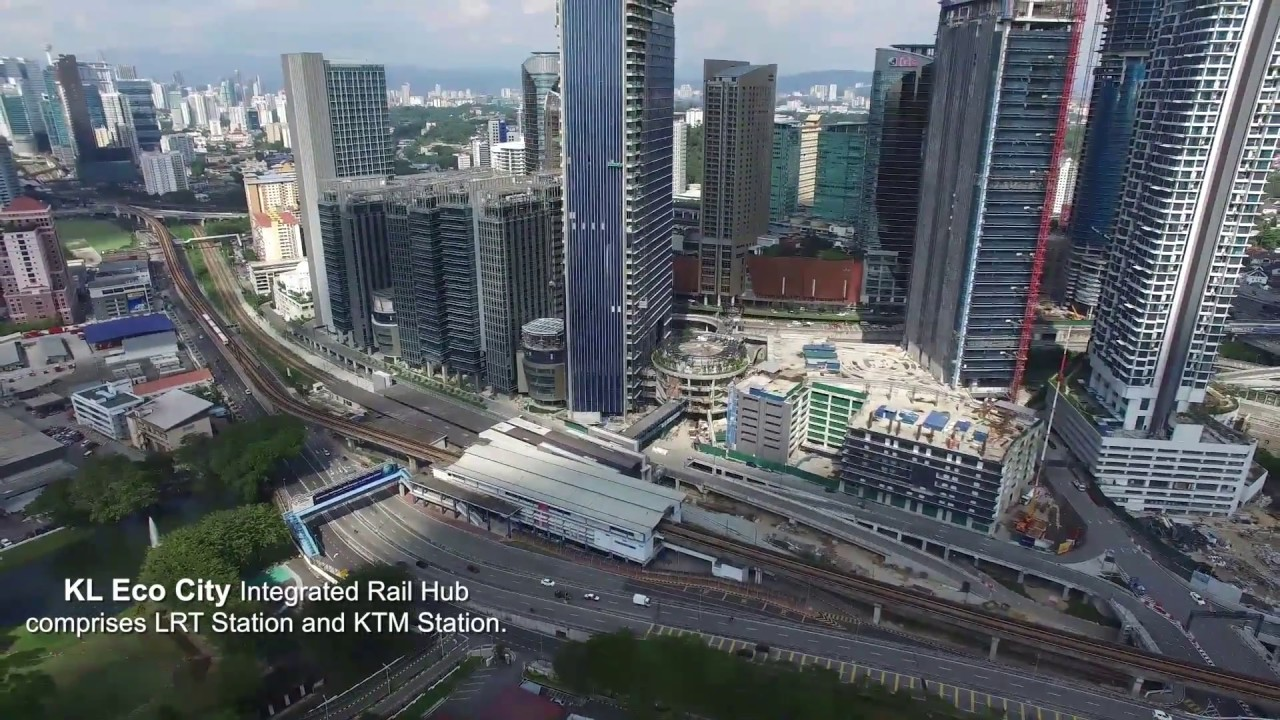 KL Eco City Site Progress Drone Video as at March 2017