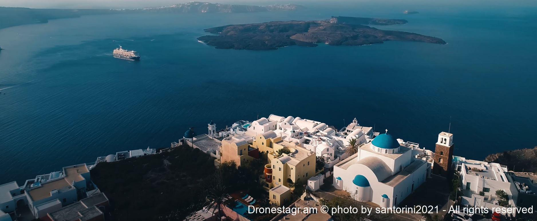 Hotels with best views in Santorini Greece